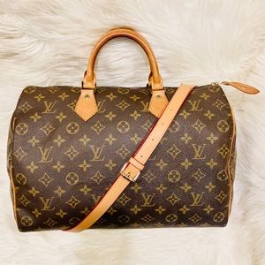 Authentic Louis Vuitton Speedy 35 #4.6b